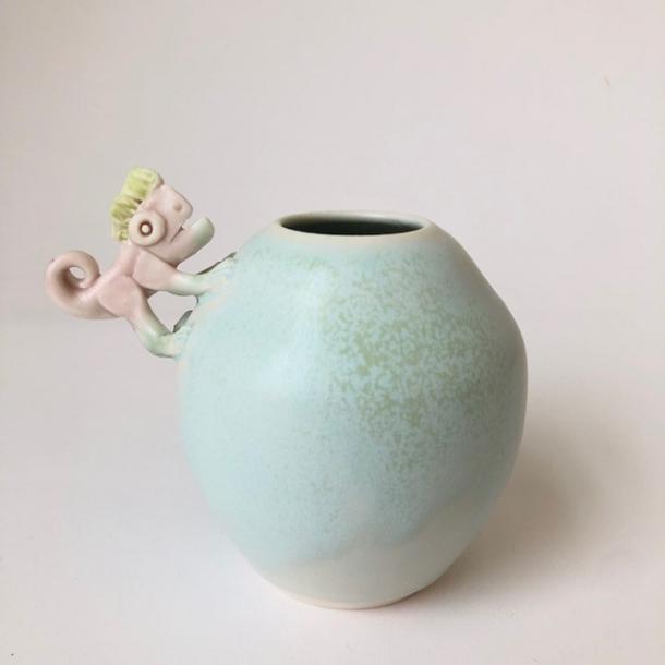 Rund Vase 1